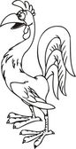 Chicken . — Stock Vector