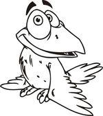 Crow. — Stock Vector