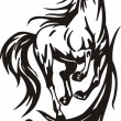 Beautiful Horse. - Stock Vector