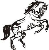 Beautiful Horse. — Stock Vector