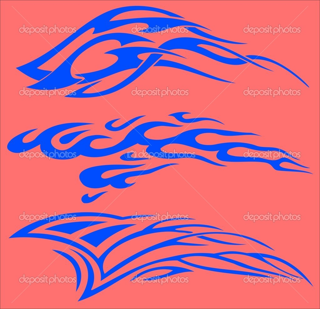 Vector illustration ready for vinyl cutting. — Stock Vector #4492762