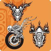 Motocicleta. — Foto Stock