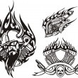 Tribal bikes. — Stockvector #4894459