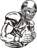 American Football. — Stock Vector