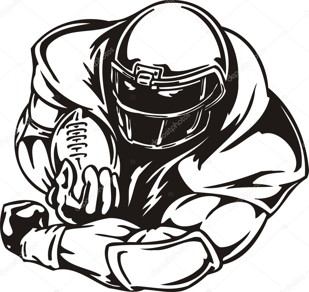 american football player coloring pages - photo#30