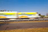 Passing truck — Stock Photo