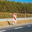Road works - Foto Stock