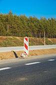 Obras rodoviárias — Foto Stock