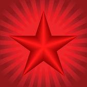 Rode ster te behalen — Stockvector