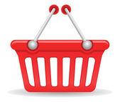 Shopping basket — Stock Vector