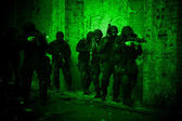 Alt bölümü anti-terör polis — Stok fotoğraf