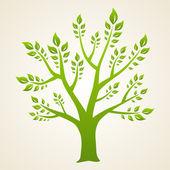 Green tree. Concept — Stock Vector