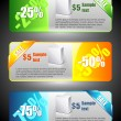 Sale banners — Vector de stock #4663712