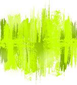 Zelená abstraktní malby šplouchání ilustrace. vektor — Stock vektor