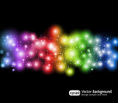 Eps10 light effects background — Stock Vector