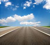 De weg vooruit — Stockfoto