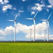 Power generating windmills — Stock Photo #4086116