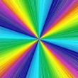 Colorful rainbow background — 图库照片