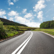Stockfoto: Most asphalt road