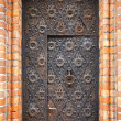 Old ancient door — Stock Photo