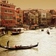 Venice -Grand Canal - Zdjcie stockowe