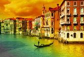 Amazing Venice - artistic toned picture — Stock Photo