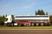 Fuel tanker truck — Stock Photo
