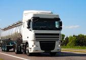 Tanker truck — Stock Photo