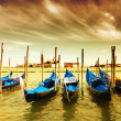 Stock Photo: GondolParking, Venice