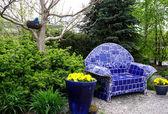Beautiful spring garden — Stock Photo