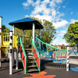 Children's Playground in the city — Stock Photo #4607873