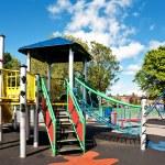 Children's Playground in the city — Stock Photo