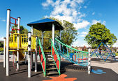 Children's Playground in the city — Stock Photo