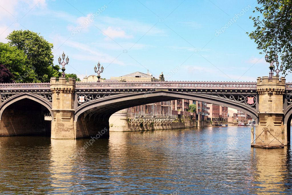 Bridge in York, England — Stock Photo #4614526