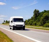 Delivery Van — Stock Photo