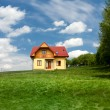 New single family house — Stock Photo