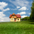 Stock Photo: New single family house