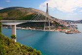 Dubrovnik bridge, Croatia — Stock Photo