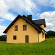 New Yellow House — Stock Photo