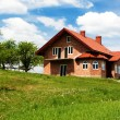 Stock Photo: New single family home