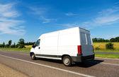 Van on the Move — Stock Photo