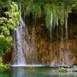 Stock Photo: Waterfall by Plitvice Lakes, Croatia