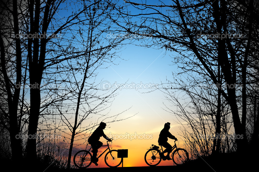 Cyclists — Stock Photo #3927202