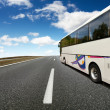 Bus Travel — Stockfoto
