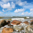Sea stones - Stock Photo