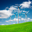 Windmill, eco power — Foto Stock