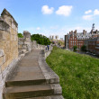 York City Walls, UK - Stock Photo