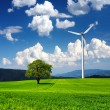 Wind generator — Stock Photo