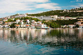Summer landscape of Dalmatian coast, Croatia — Stock Photo