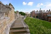 York şehir surları, i̇ngiltere — Stok fotoğraf